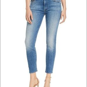 MOTHER High Waisted Looker Ankle Skinny Jean 31
